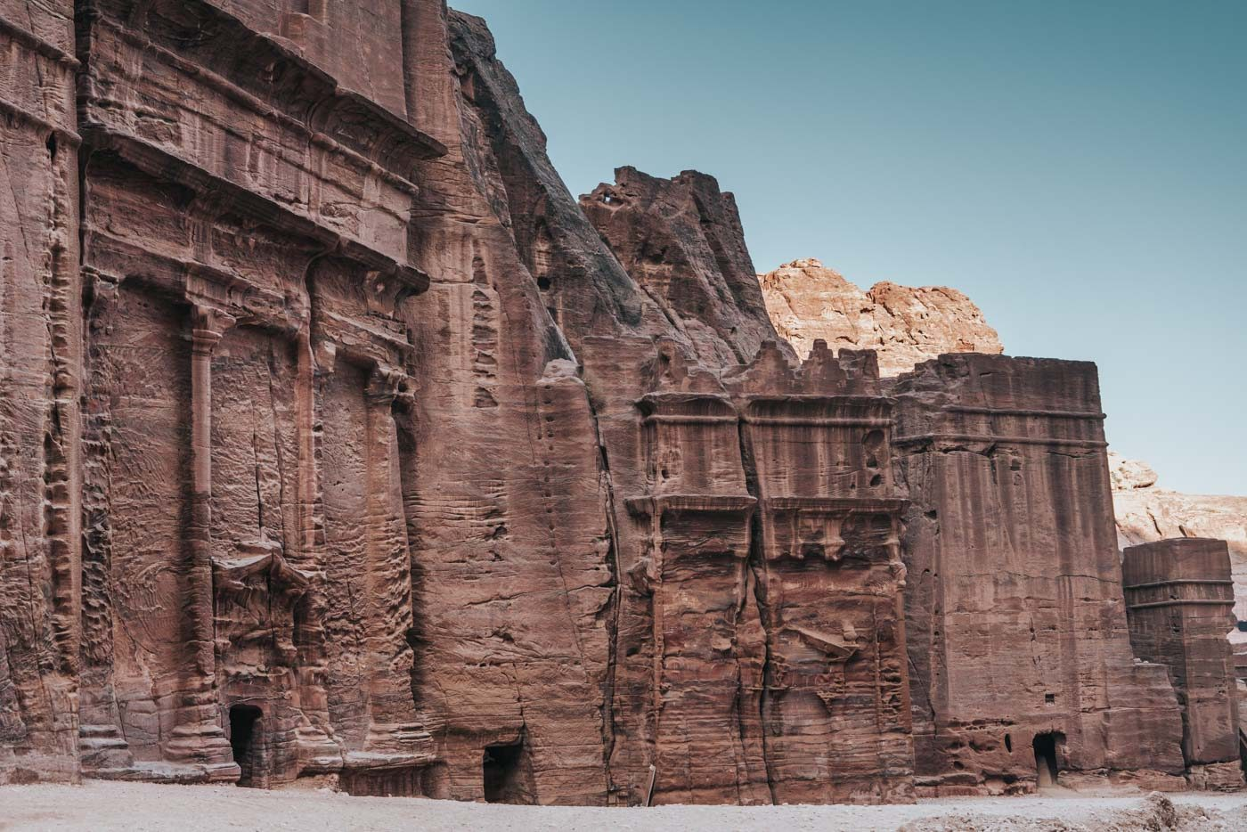 Intricate carvings ofPetra are not easy to decipher!