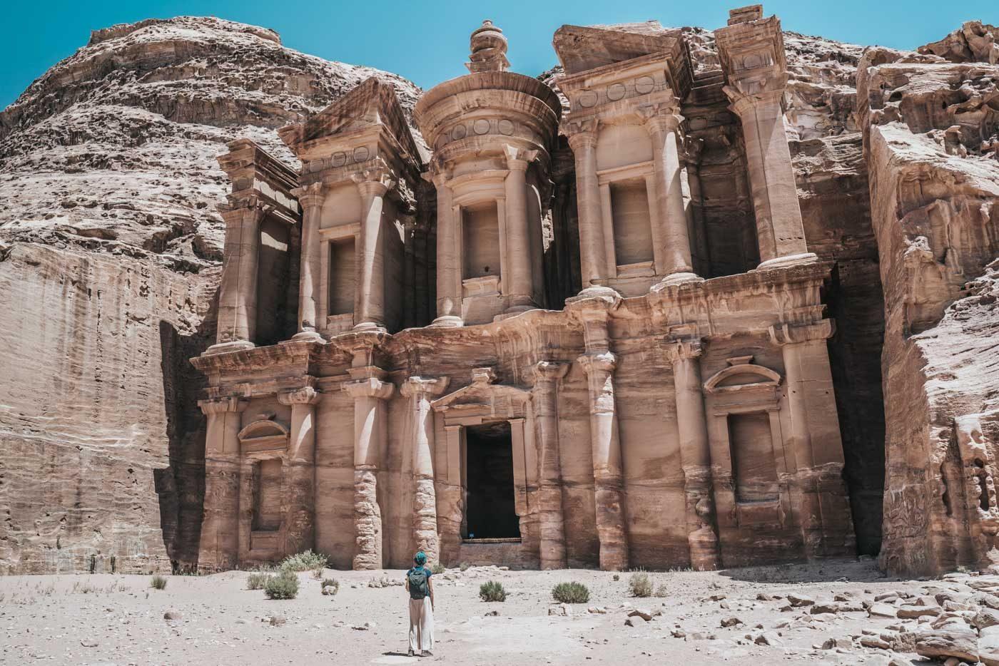 Jordan Tour: The Monastery at Petra, Jordan