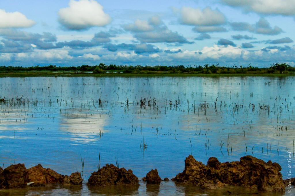 Scenic views of Tonlé Sap