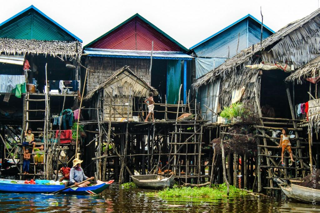 Daily life at Kampong Phluk