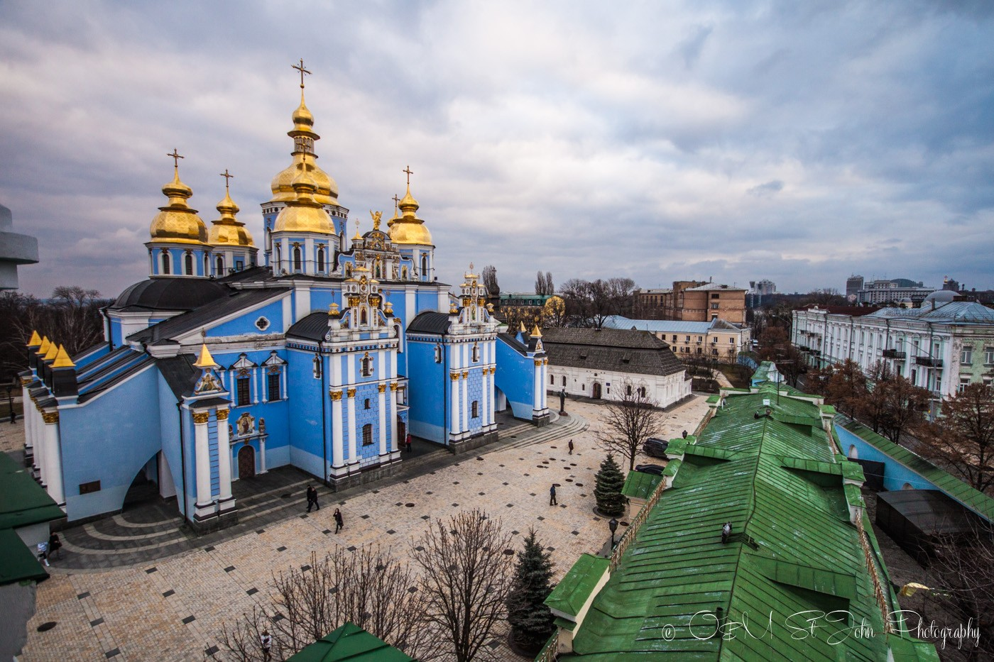 St Michael's Golden Dome Monastery, Kiev. Ukraine