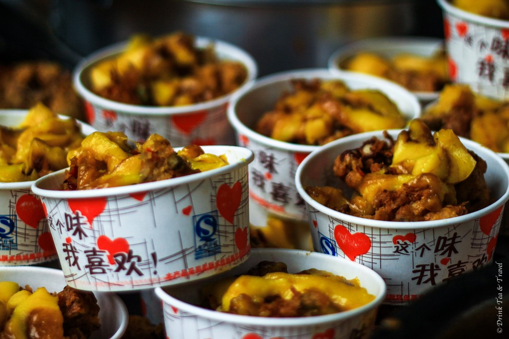 Fried chicken (maybe?) in Lijiang, China
