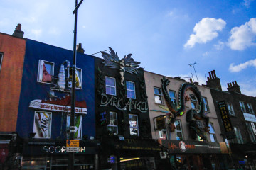 Exploring Alternative Culture in Camden Town, London