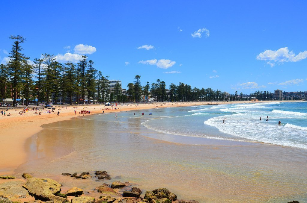 Best Beaches in Australia: Manly Beach, Northern Sydney, NSW