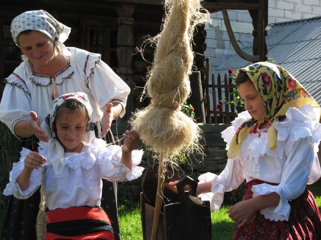 Maramures Village, Romania