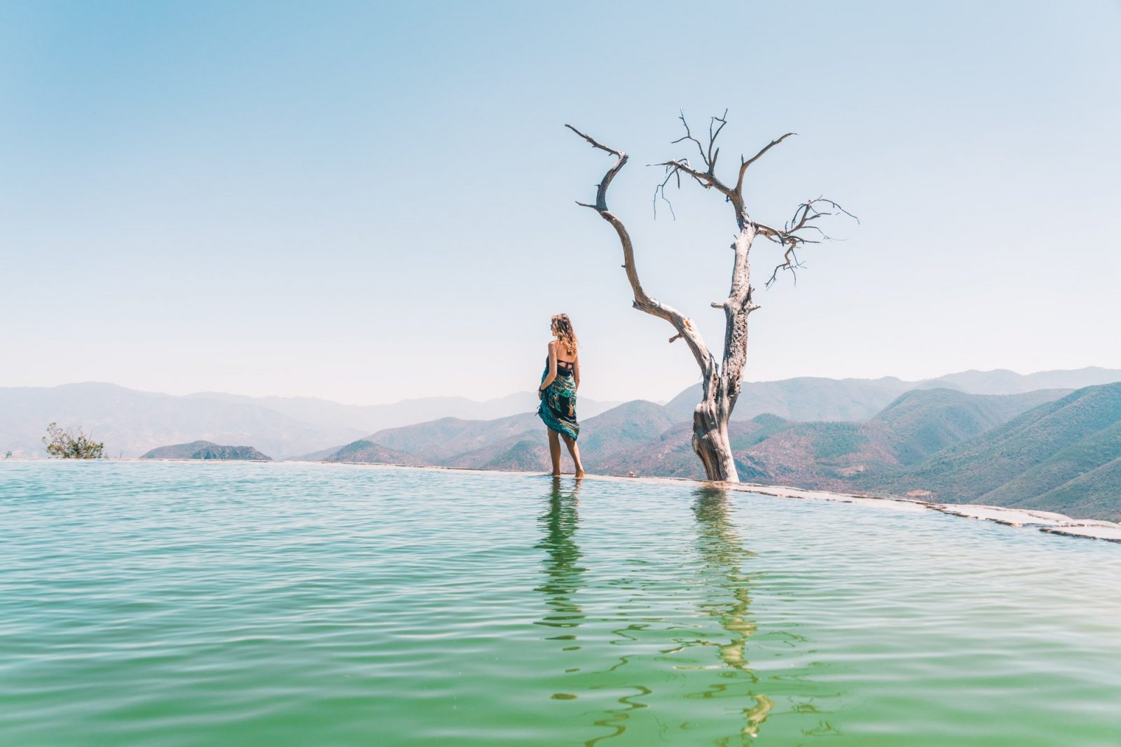 Hierve el Agua near Oaxaca Mexico