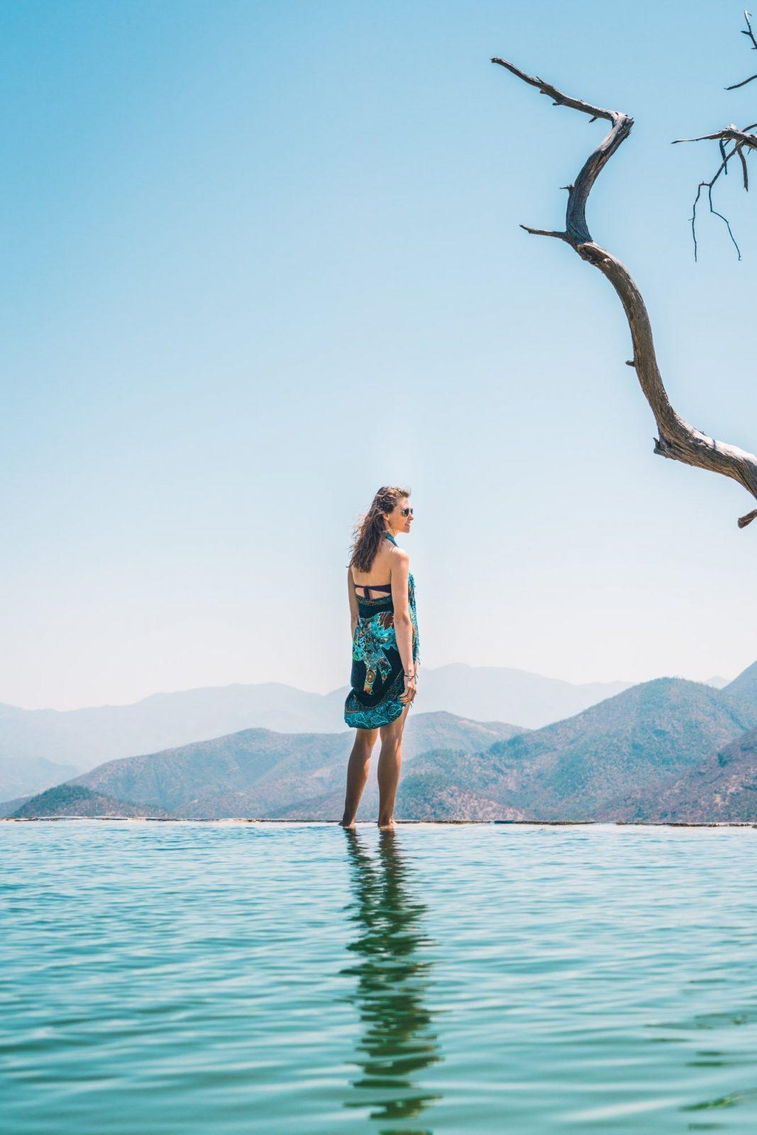 How to Visit Hierve el Agua near Oaxaca, Mexico