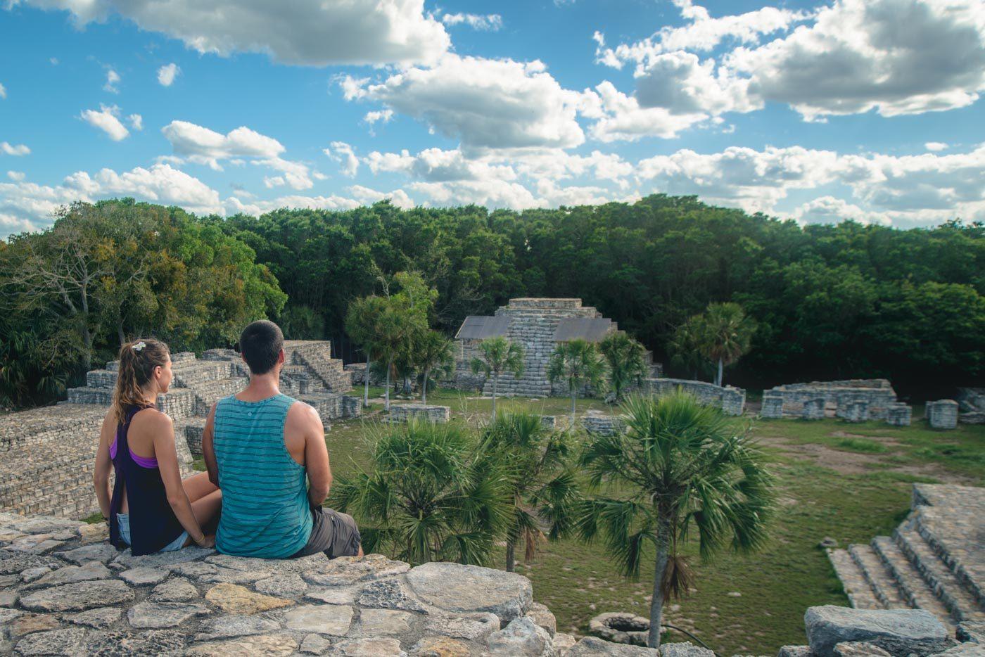 Mayan ruins, Progresso, Yucatan, Mexico