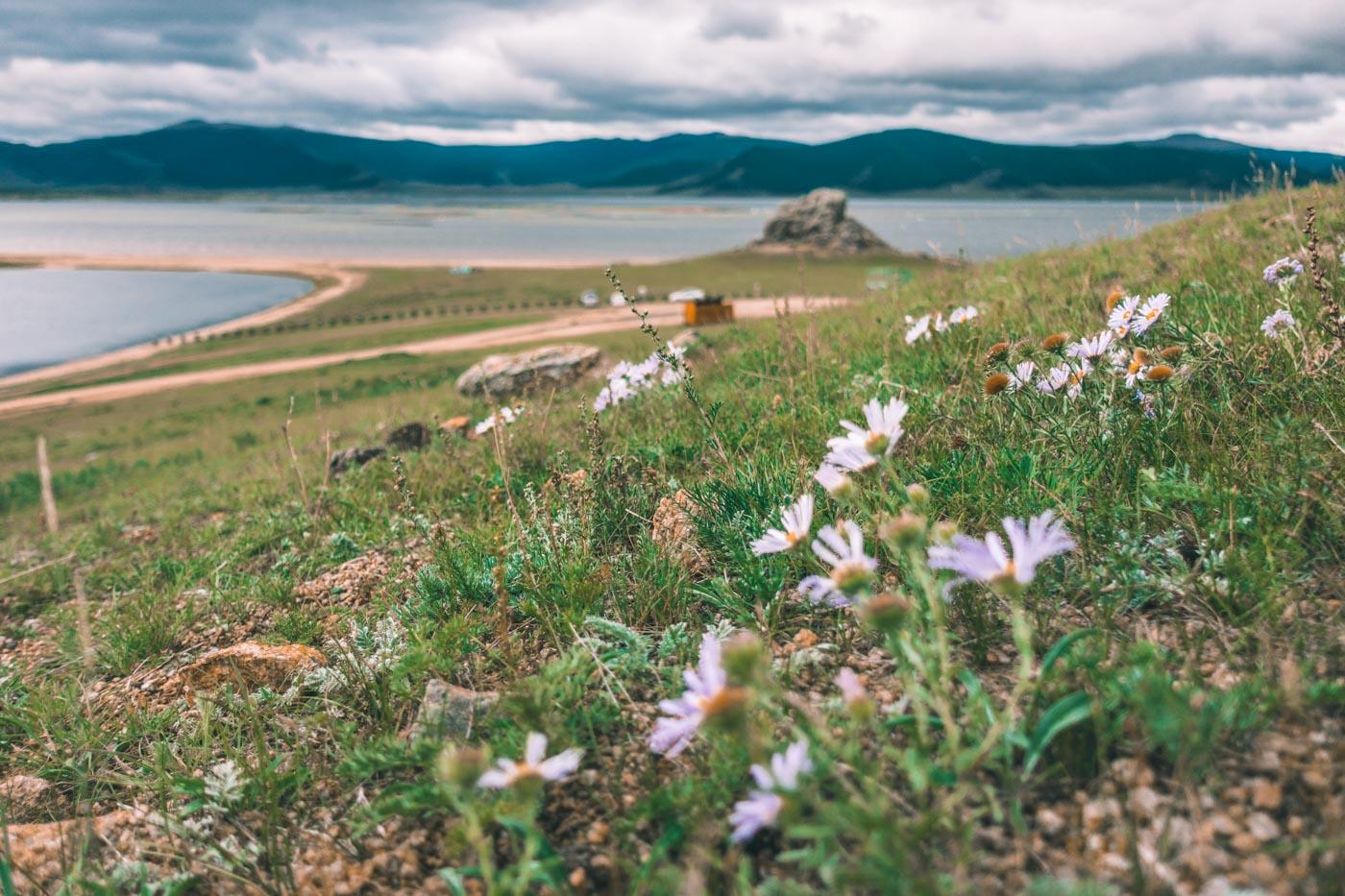 Great White Lake, Central Mongolia