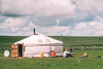 What It's Like to Stay in a Ger in Mongolia