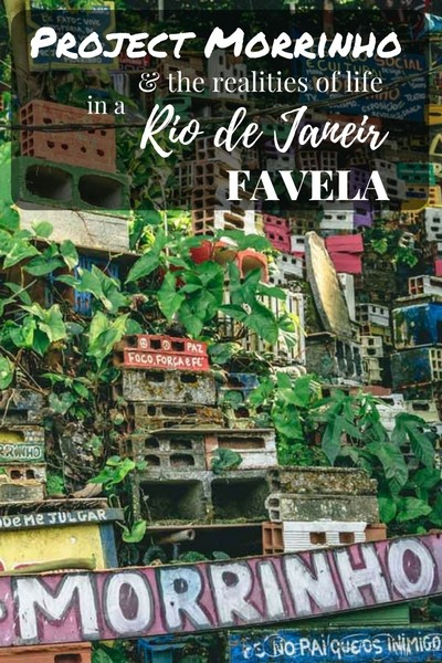 During our recent visit to Rio de Janeiro we spent a week staying at the Pereira da Silva favela and got to learn more about this community and to her favela communities in Rio during our visit to Project Morrinho, socio-cultural project with a miniature size replica of Rio's favelas