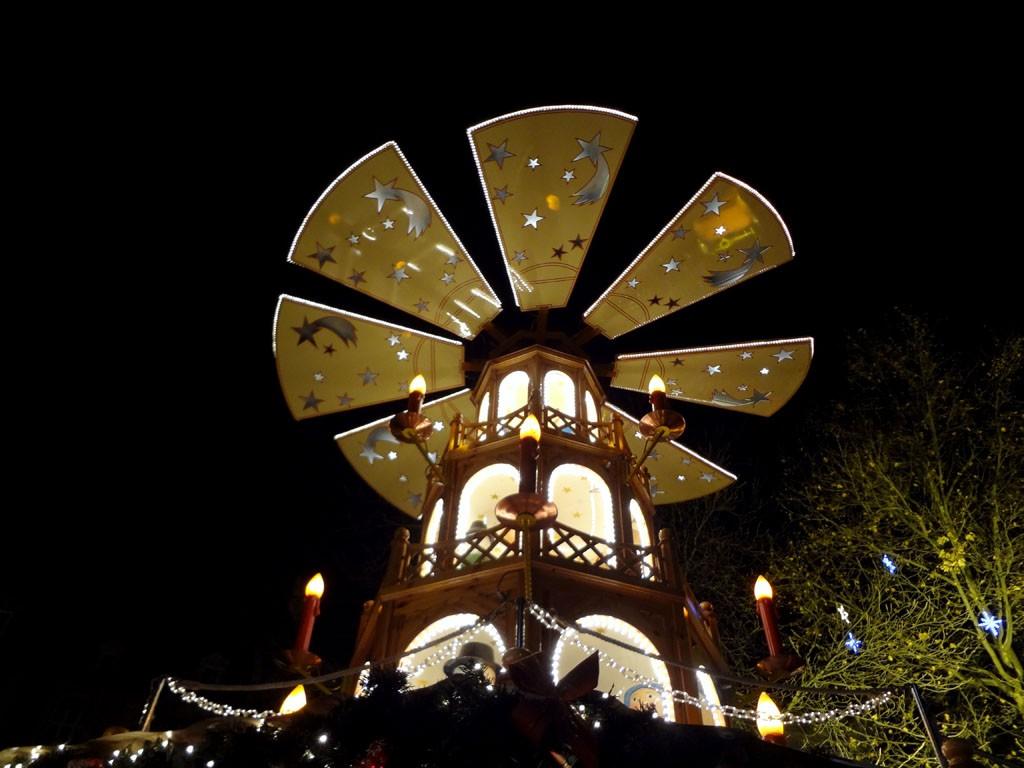 Munich Christmas Market Tower, Munich, Germany