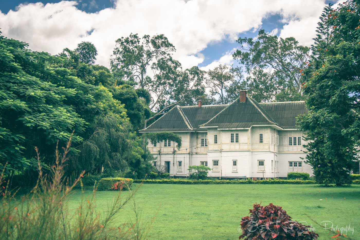 Old British colonial architeture in Pyin Oo Lwin, Myanmar
