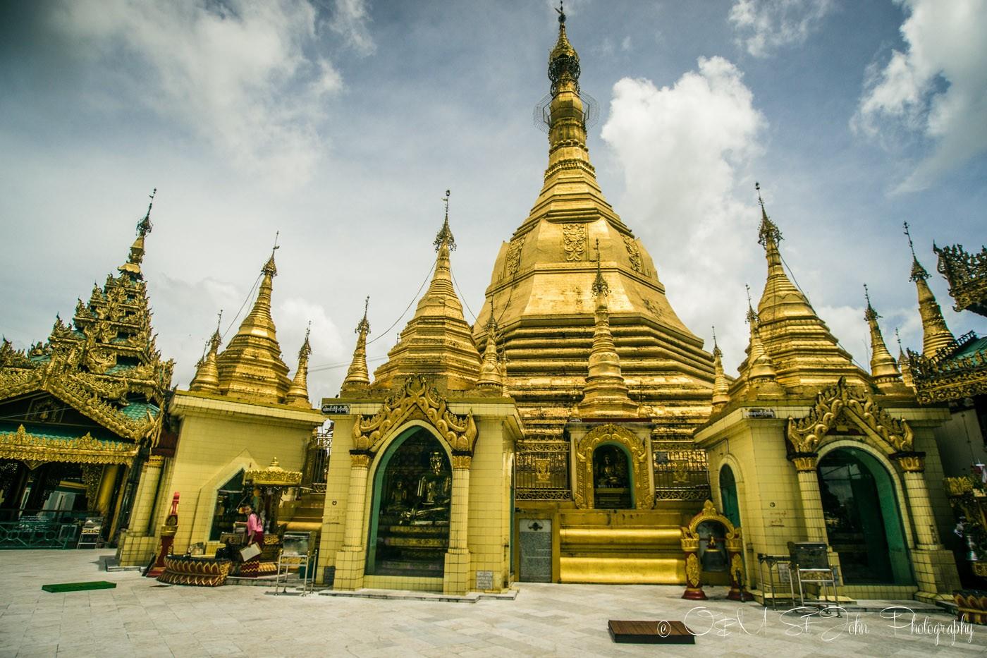 3 days in Yangon: Sule Pagoda. Yangon. Myanmar