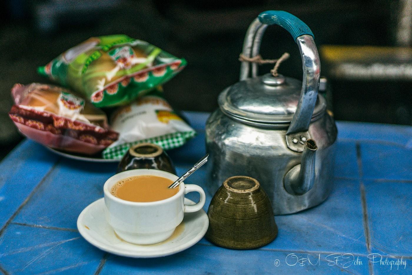 3 days in Yangon: Burmese tea. Yangon. Myanmar