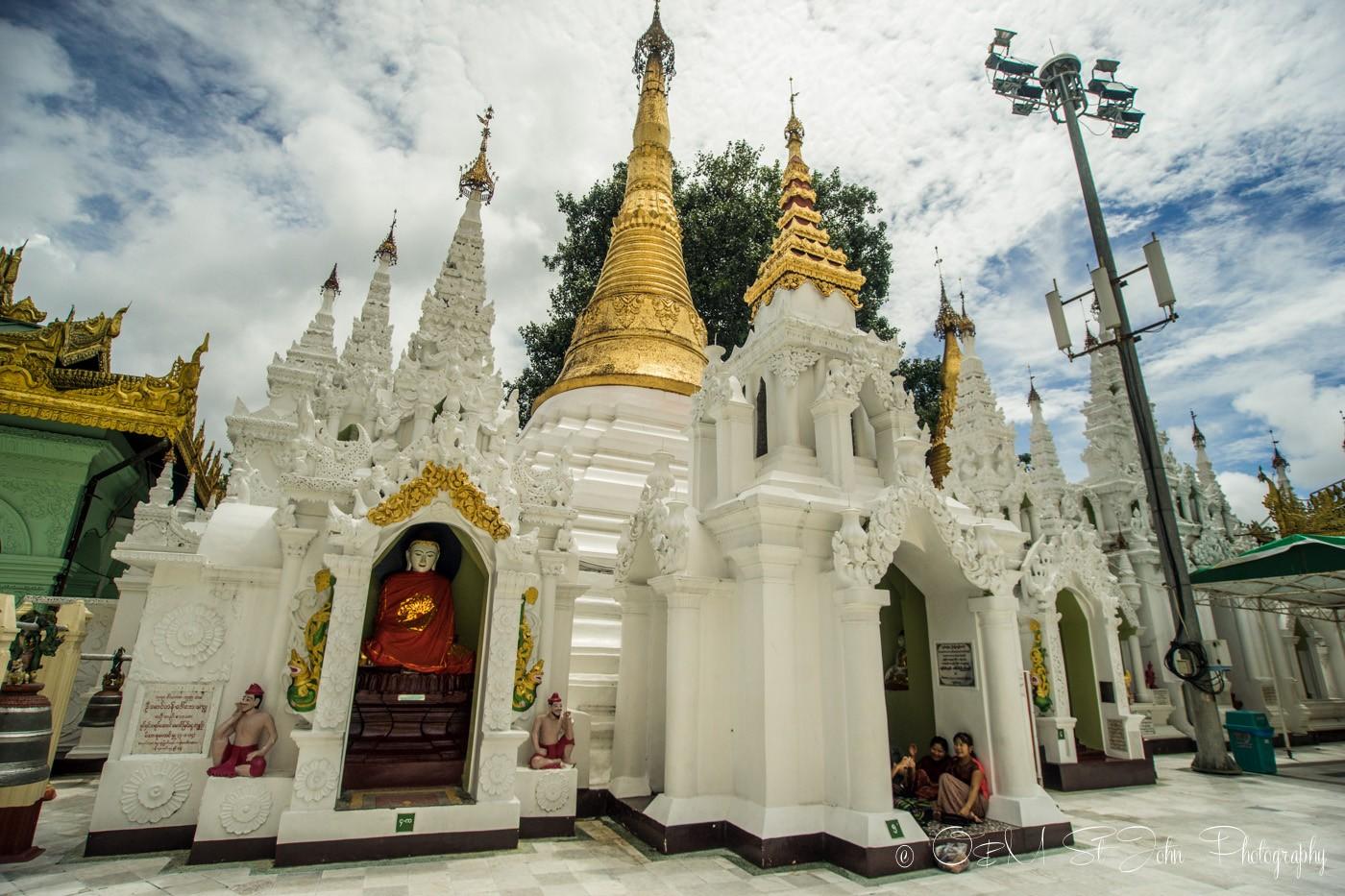 3 days in Yangon: Shwedagon Pagoda. Yangon. Myanmar