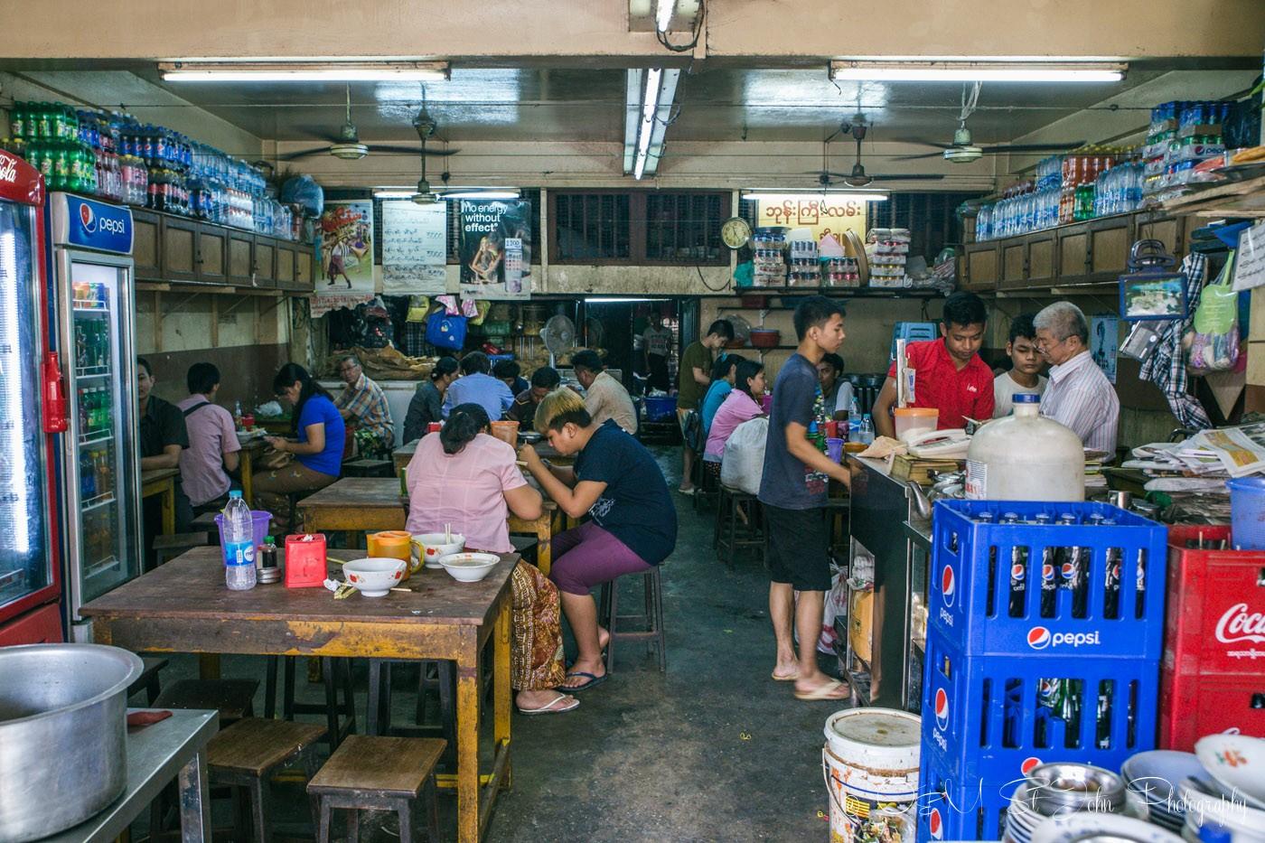 3 days in Yangon: Shop in Yangon