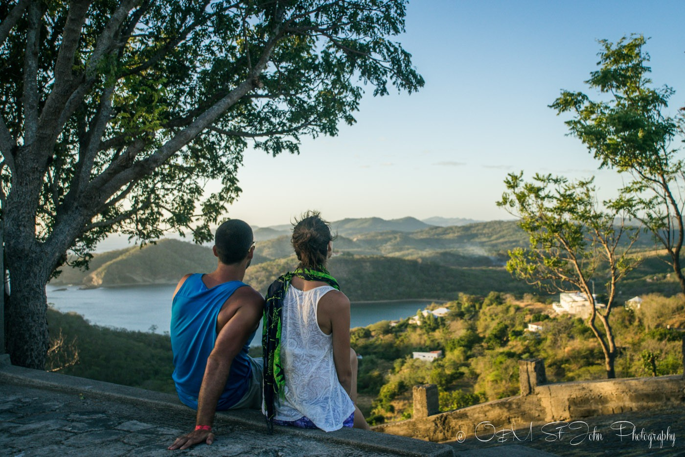 Couples Vacation: Max and Oksana in San Juan del Sur in Nicaragua