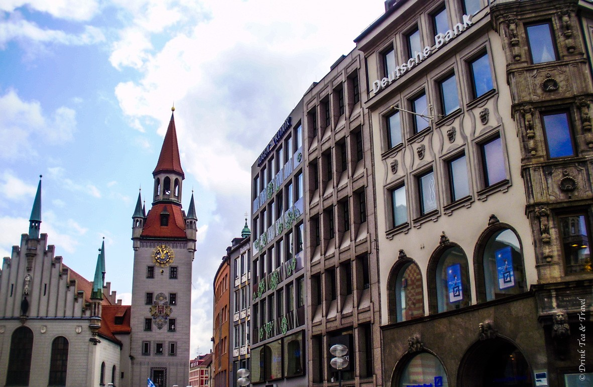 Europe Itinerary: Around Marienplatz, Münich