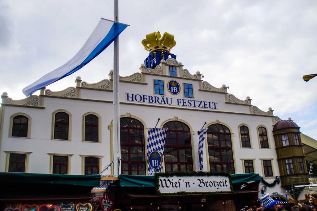 Hofbräu-Festzelt tent