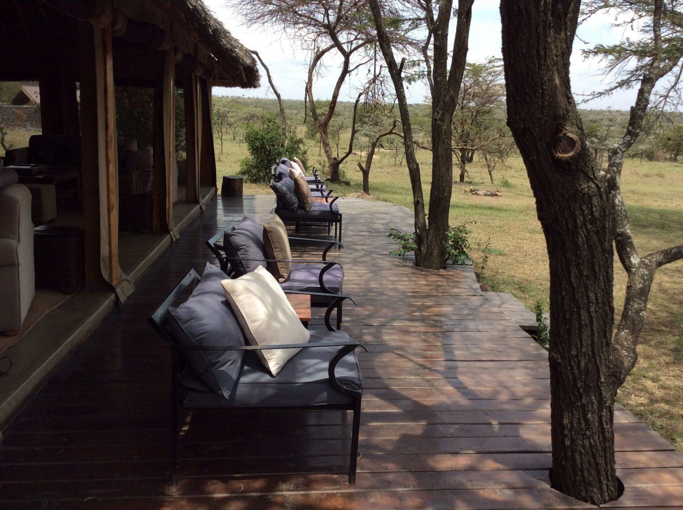 Safari Lodges in Kenya: Naboisho Camp outdoors
