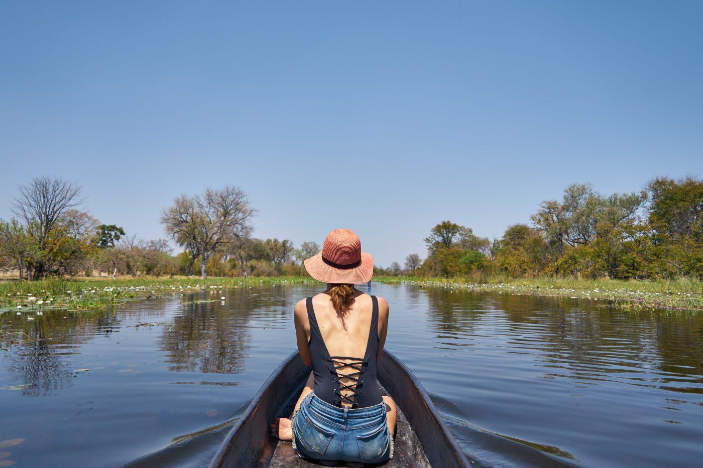 Minimalism: Over Okavango Glass