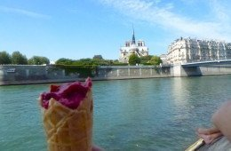 Berthillon sorbet, Paris, France