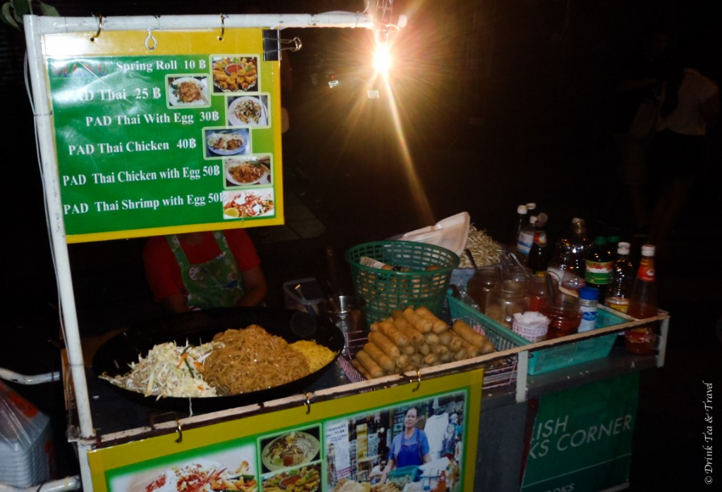 This Pad Thai on the street of Bangkok will cost you less than US $1