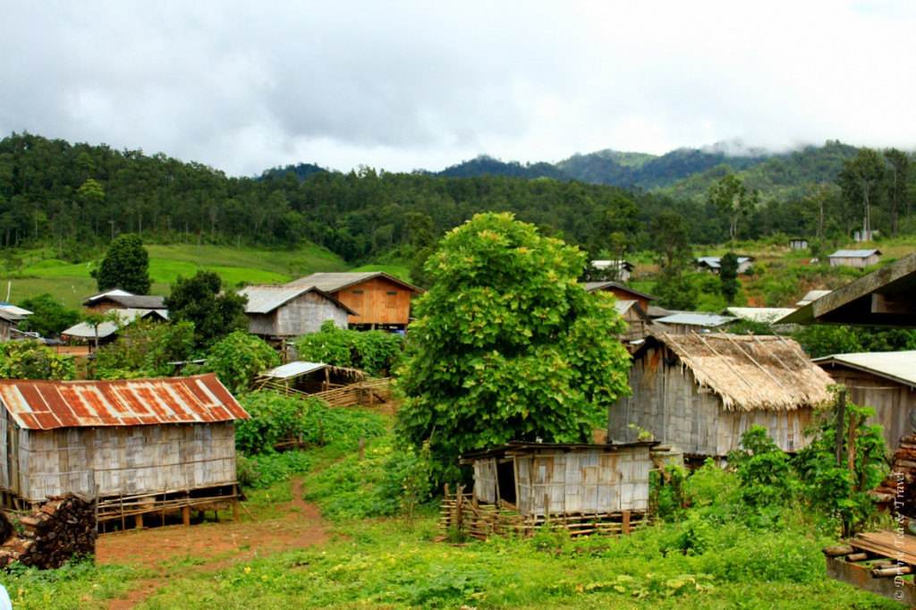 A village in the North of Pai