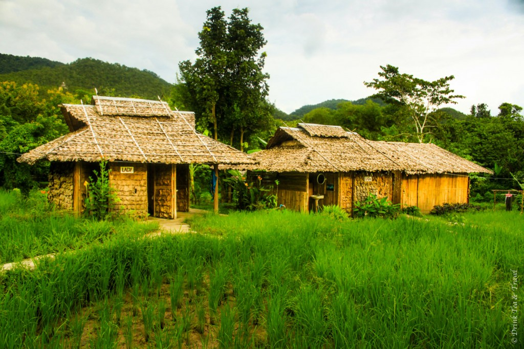 Spicy Pai bamboo huts