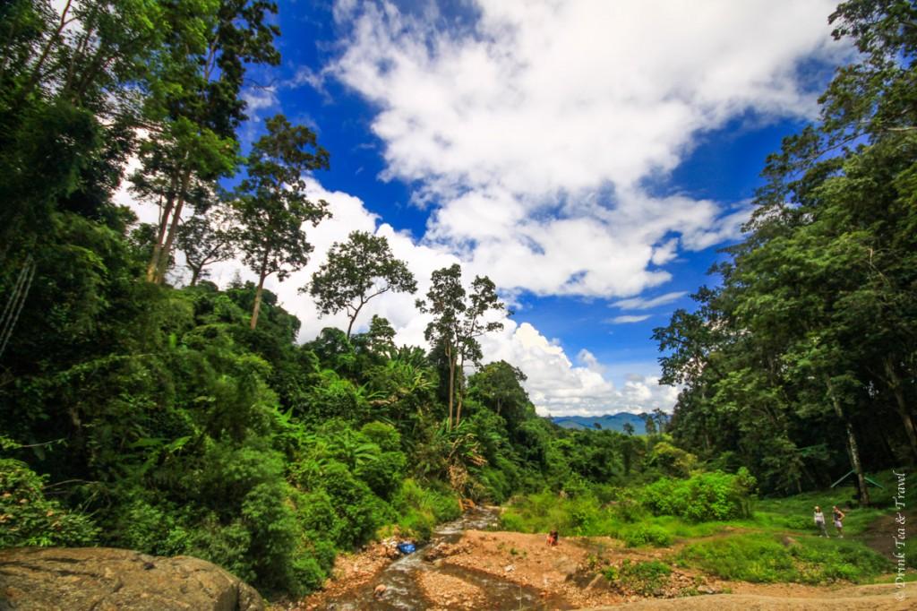 Views from the Mhor Pang Waterfall