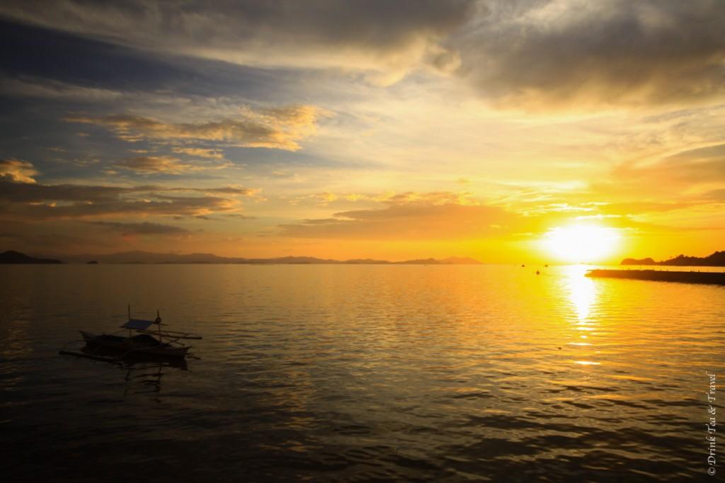 Sunset in Coron, Palawan