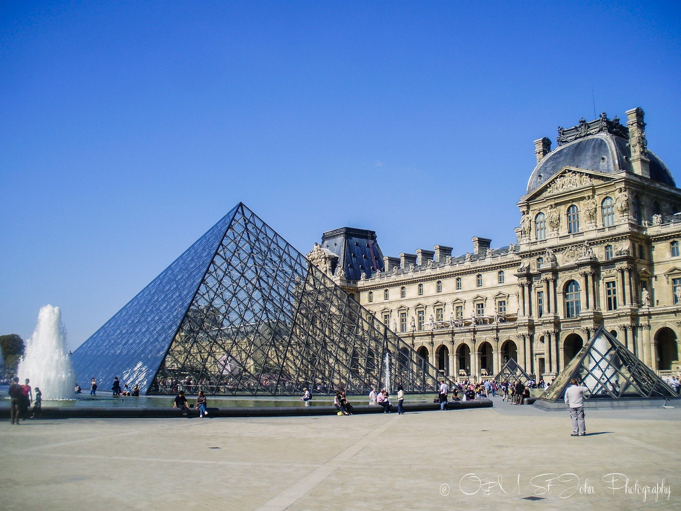 The Louvre. Paris. France. Europe