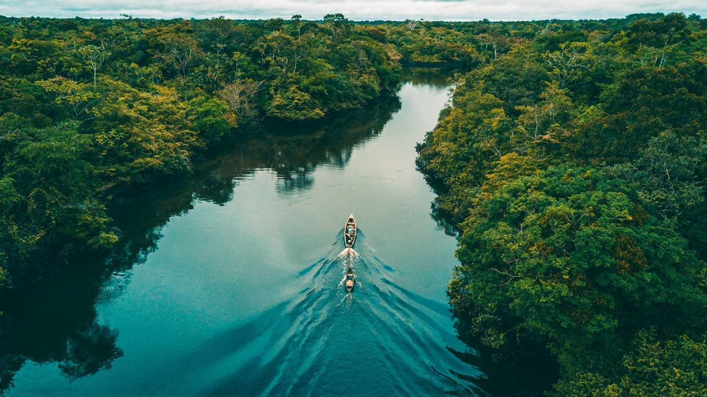 Amazon River basin, outside of Iquitos, Peru
