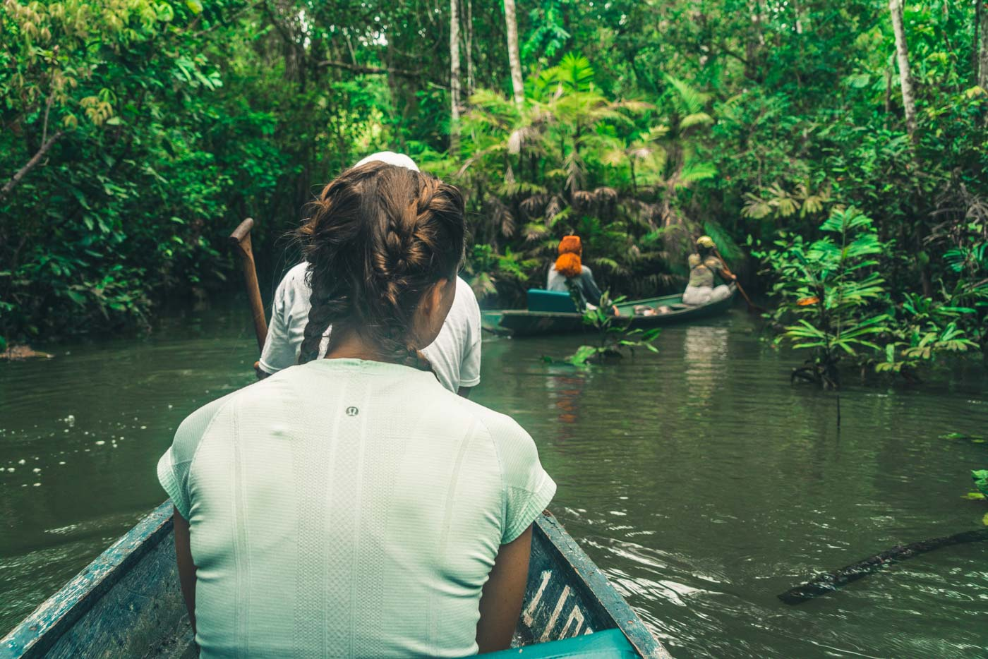 First day on the Tahuayo river in the Amazon
