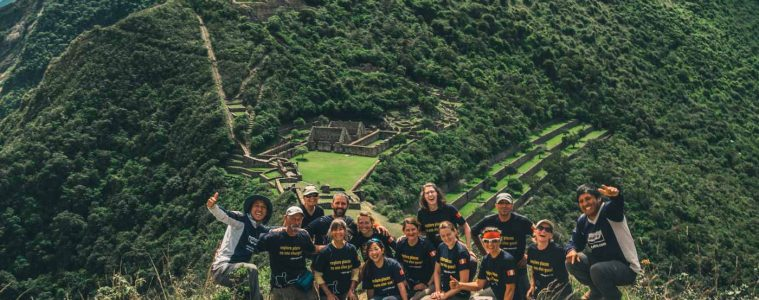 On a tour with Apus Peru, a sustainable tour company in Cusco, Peru