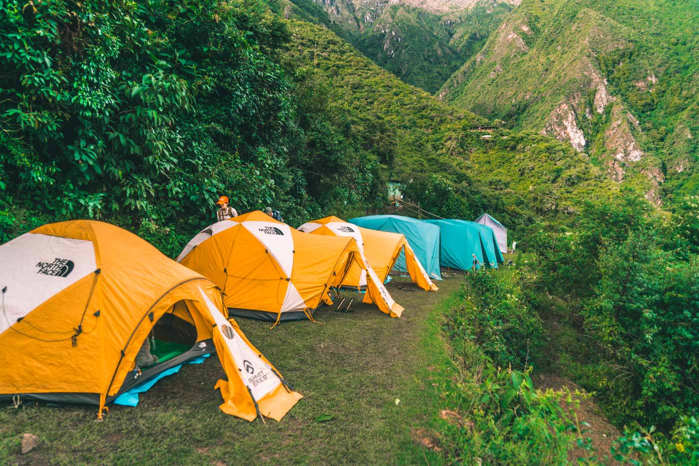 Campsite at Choquequirao