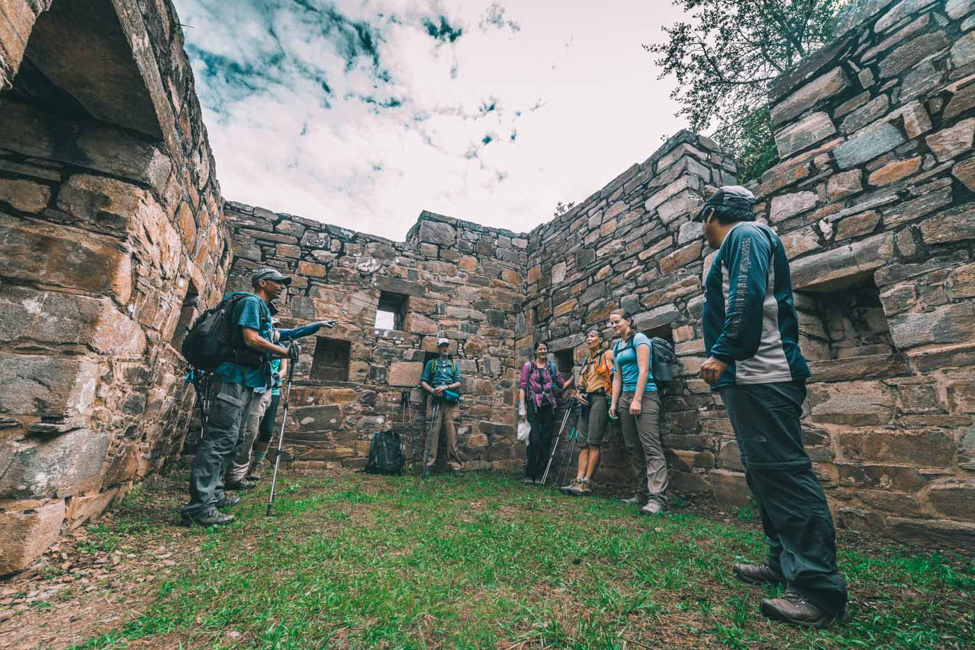 Our guide William shares insights about the Choquequirao Ruins