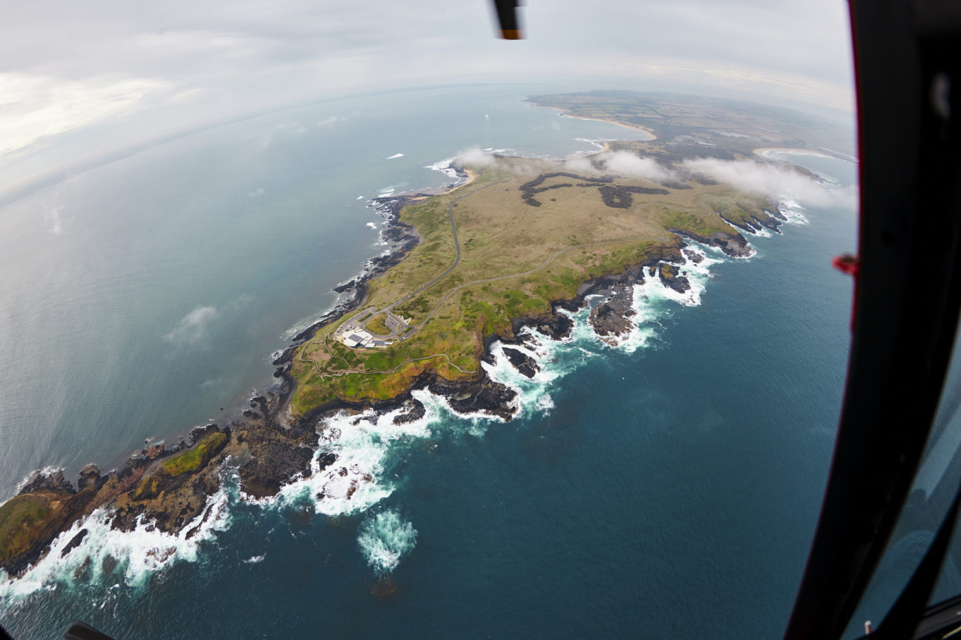 Phillip Island from above. Photo courtesy of Destination Phillip Island , things to do in Phillip Island