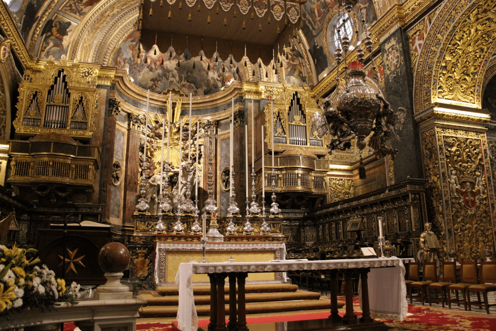 What to do in Valletta: St John's Cathedral