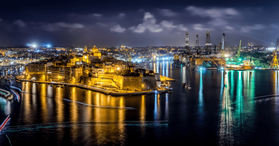 What to do in Valletta: View of the harbour in Valletta
