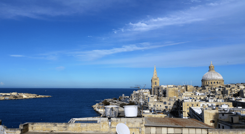 What to do in Valletta: View of the ocean in Valletta