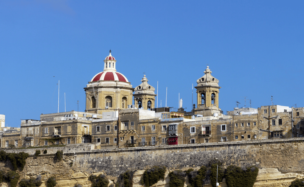 What to do in Valletta: Valletta buildings
