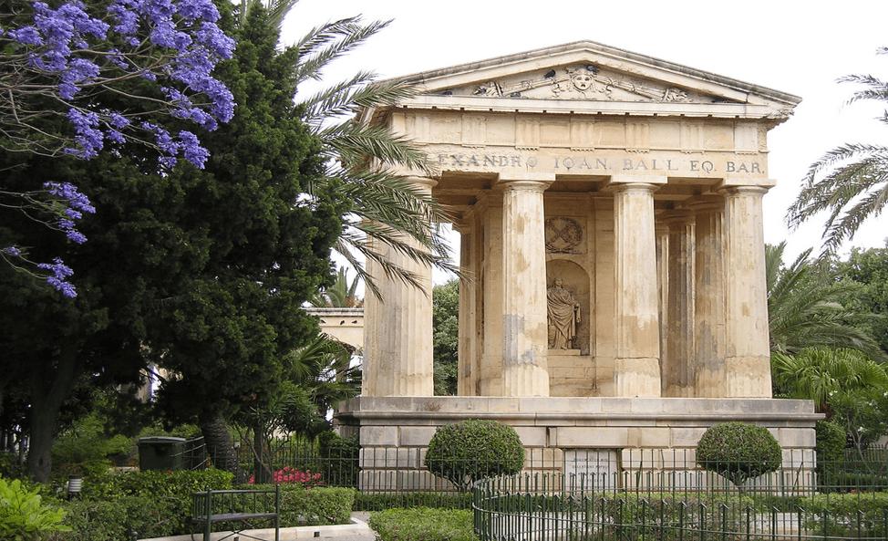 What to do in Valletta: Lower Barrakka Gardens in Valletta, Malta