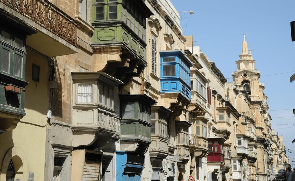 What to do in Valletta: buildings in Valletta