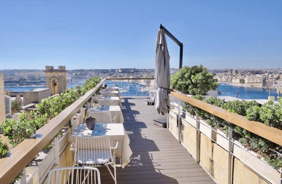 What to do in Valletta: Ursulino Valletta patio