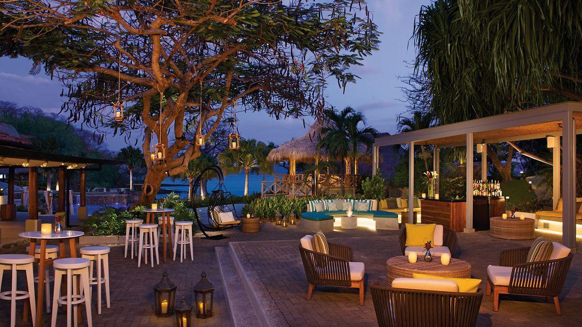 Night view at all inclusive resort Secrets Papagayo Resort, Costa Rica