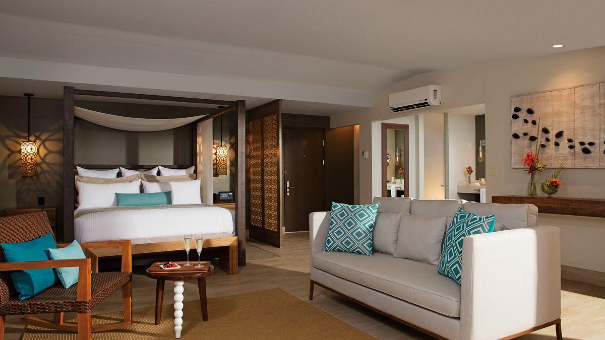 Room view at all inclusive resort Secrets Papagayo Resort, Costa Rica
