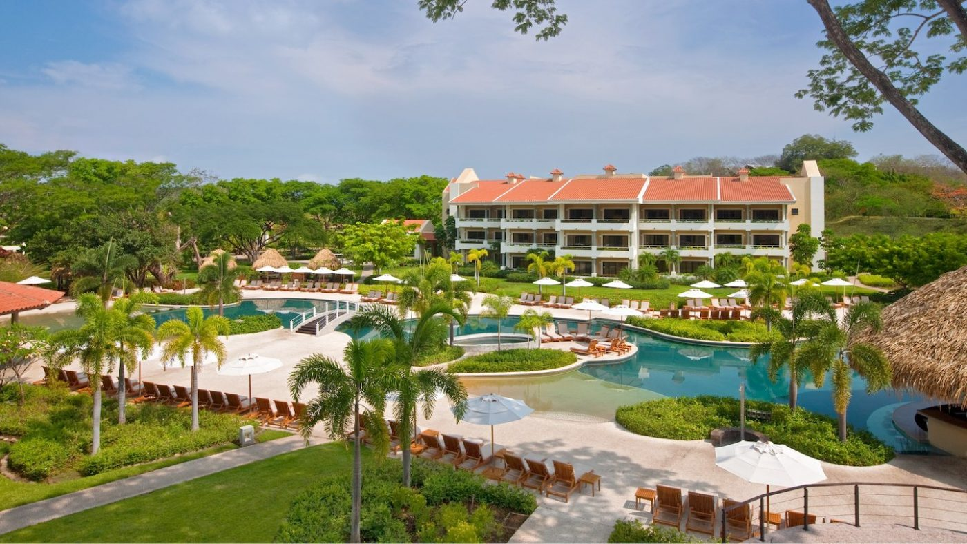 Pool view at The Westin Golf and Resort and Spa, Playa Conchal