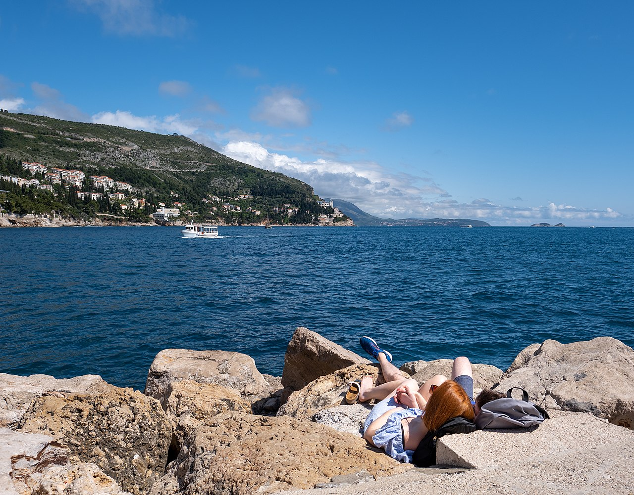 Best Beaches in Dubrovnik, Croatia: Porporela Pier